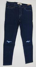 Hollister High Rise Super Skinny Jeans - Juniors 15R 32x31 - Dark Wash - NWT