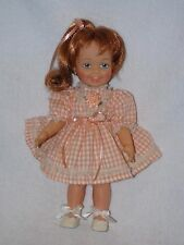 """12"""" Vintage Ideal Red Haired Cinnamon Grow Hair Doll"""