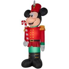 14.5 ft Airblown Lighted Mickey Mouse Toy Soldier Christmas Outdoor Inflatable