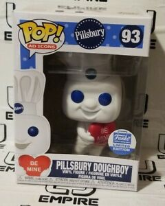 Funko Pop! Ad Icons Pillsbury Doughboy With Heart Shop Exclusive Valentines Day