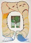 Pierre ALECHINSKY s/n Lithography Retour aux sources 1976