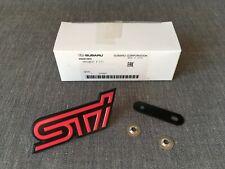 Subaru Genuine STI Front Grille Emblem Badge for Impreza WRX STI