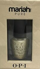 OPI Nail Lacquer 8K White Gold & Silver Top Coat