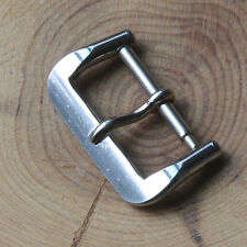 Original Swiss Tropic band steel 16mm buckle says ACIER 1960/70s vintage 25 sold