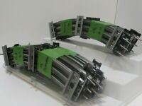 Lionel O, 3-Rail, Tin Plate Tube Track, Curved, O31, Sets of 10 Pcs., C-7, -dj