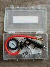 Milton Exel Air Pistol Grip Tire Inflator Gauge Kit w/ locking Chuck #EX0510PKIT