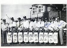 ARNOLD PALMER, GENE LITTLER & DOUG FORD: 1961 Ryder Cup Autographed