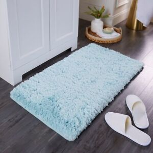 Home Bath floor mat bathroom Rug Plush soft Luxury faux fur memory foam