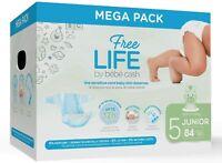 Méga Pack Couches Freelife Bébé Cash Taille 5 (11-25kg) - 84 couches. 0 parfum
