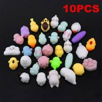 10X Kawaii Animal Squishy Healing Squeeze Fun Kid Toy Stress Reliever Decor