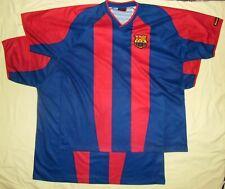2x! FC BARCELONA / 2002-2003 Home - P.D, Roger's - 2x MENS Shirts / Jerseys. XXL
