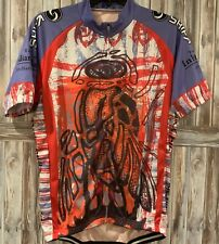 Black Fly Challenge Indian Lake Adirondacks NY Cycling Shirt Womens Mens Large