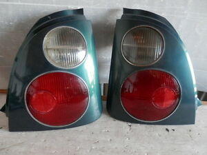 1996 1999 JDM TOYOTA STARLET CARAT EP91 TAIL LIGHT SET RARE ITEM FACTORY OEM