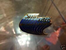 Star Trek Next Generation Series Blue Logo With Trail Pin Badge LC17