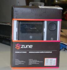 NEW Genuine Microsoft ZUNE Home A/V Pack Dock & remote