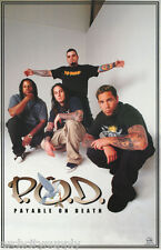 Poster : Music : P.O.D. Payable On Death - Free Shipping ! #6210 Rp60 H