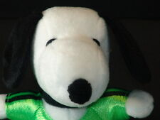 NEW METLIFE SNOOPY AD PLUSH DOLL SOCCER JERSEY PLAYER PLUSH STUFFED ANIMAL TOY