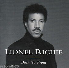 LIONEL RICHIE Back to Front  CD Best Of