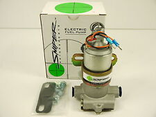 ELECTRIC FUEL PUMP 140 GPH CARBY APP NOS SNIPER EQUIV HOLLEY BLACK 12-815-1