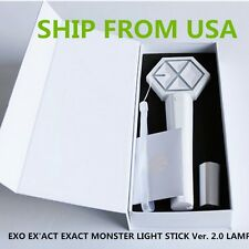 FROM USA- EXO Concerts LIGHTSTICK Ver. 2.0 Lamp Light stick+PHOTO CARD【in stock】