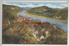 (96796) AK Sächs. Schweiz, Wehlen, Panorama, aus Leporello, vor 1945