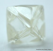 FOR ROUGH DIAMONDS JEWELRY BUY 1.32 CARAT I FLAWLESS OCTAHEDRON DIAMOND CRYSTAL