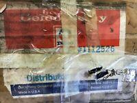 CORVETTE C3 NOS GM DELCO REMY TACH DRIVE DISTRIBUTOR & CAP 1112526 DATED: 0K13