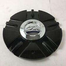 """Zinik Z12 Mazotti Wheel Center Hub Cap Black SI-CAP-Z151 8"""" Diameter ZK37"""