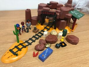 Playmobil 5246 Western Gold Mine Not complete