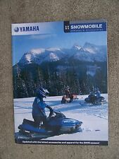 2005 Yamaha Snowmobile Apparel Accessories Promo Catalog MORE SNO-MO IN STORE  U