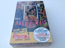 NBA 1994-95 Topps Foil Stamped Spectralight Series 2 FACTORY SEALED 36 pack BOX