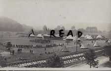 Panoramic view of London Division Horse Show at Overath Westphalia Germany 1919