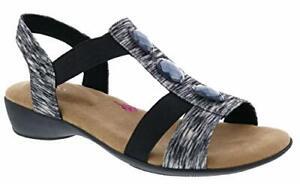 Ros Hommerson Mackenzie Women's Sandal, Black/Multi, Size 8.0