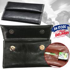 Cigarette Rolling Paper Tobacco Pouch Holder Leather Bag Case Filter Wallet Gift