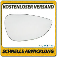 Spiegelglas für FORD FIESTA VI 2008-2015 rechts Beifahrerseite konvex