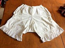 Reduced! Vintage Cotton Pantaloon Bloomers