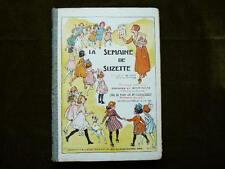 LA SEMAINE DE SUZETTE 21 ème année, 1er semestre 1925 Relié éditeur