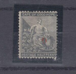 Griqualand West 1878 1/2d Grey Black SG14a Mint No Gum J1041