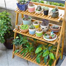 Flower Pot Plant Stand 3 Tier Planter Rack Shelf Shelves Organizer Garden