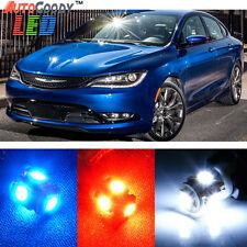 8 x Premium Xenon White LED Lights Interior Package Upgrade for Chrysler 200