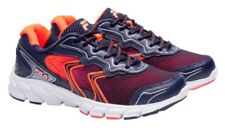 FILA Women Stellaray Ankle-High Athletic Sneakers Running Shoe Navy/Coral Size 6