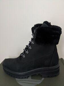 Timberland Women's Courmayeur Valley 6 Inc Shearling Waterproof Boots NIB