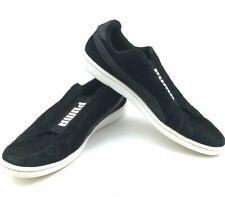 Puma Smash Slip-On Men's Black Slip-On Sneakers Size 13 364514 01 Medium (D)