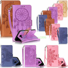 YPYB Skull Leather Case Cover For iPhone 6S 6 7 Plus 5S Galaxy S2 A3 A5 J3 J5 J7