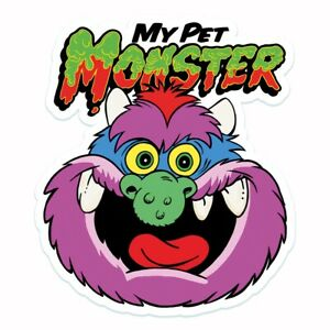 My Pet Monster Cartoon Style Vinyl Sticker