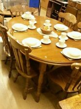 Unbranded Antique Style Up to 6 Seats Table & Chair Sets