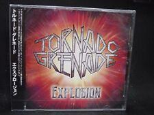TORNADO GRENADE Explosion JAPAN CD Japanese Speed/Power Metal !
