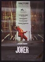 Poster Joker Joaquin Phoenix Todd Philips Kino Film Original 1 Ed 2019 P01