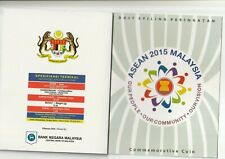 Malaysia 2015 ASEAN SUMMIT Commemorative Coin Card (BU)