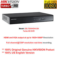 Hikvision-US DS-7208HGHI-SH 8CH TurboHD TVI DVR/Support 2 x IP/HDMI